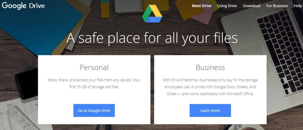 Google Drive Tool for Remote Work