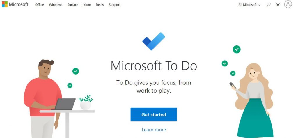 Microsoft To Do Tool for Remote Work