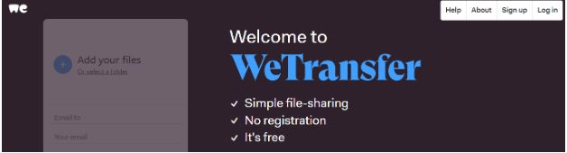 We Transfer Tool for Remote Work